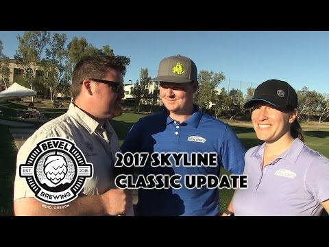 2017 Skyline Classic Announcement - Bevel Beer - Valarie Jenkins & Nate Doss