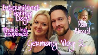 INTERMITTENT FASTING DAY - GERMANY VLOG 2 - WHAT I EAT IN A DAY FOR WEIGHT LOSS ON KETO