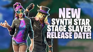 Fortnite Synth Star & Stage Slayer Skins Release Date - New Skin Info