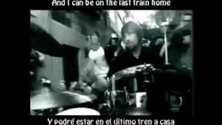Lostprophets Last train home (español/ingles)