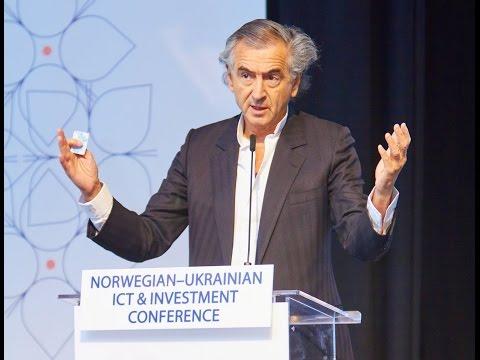 Bernard Henri Lévy at Norwegian-Ukrainian ICT & Investment Conference, Oslo, Nov 11, 2015