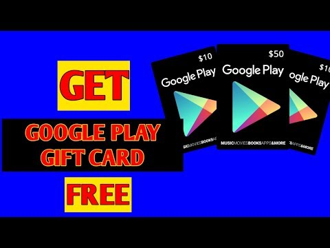 How to get free Google play gift card no hack/no mod