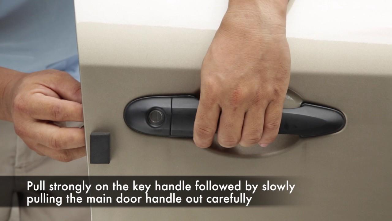 Proton Saga Door Handle Installation Steps