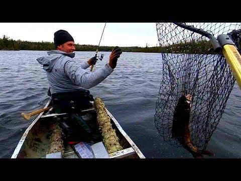 Fishing BWCA Lake Trout, Spring 2019 Part 1 Of 2