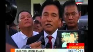 Yusril: Eksekusi Susno Salahgunakan UU