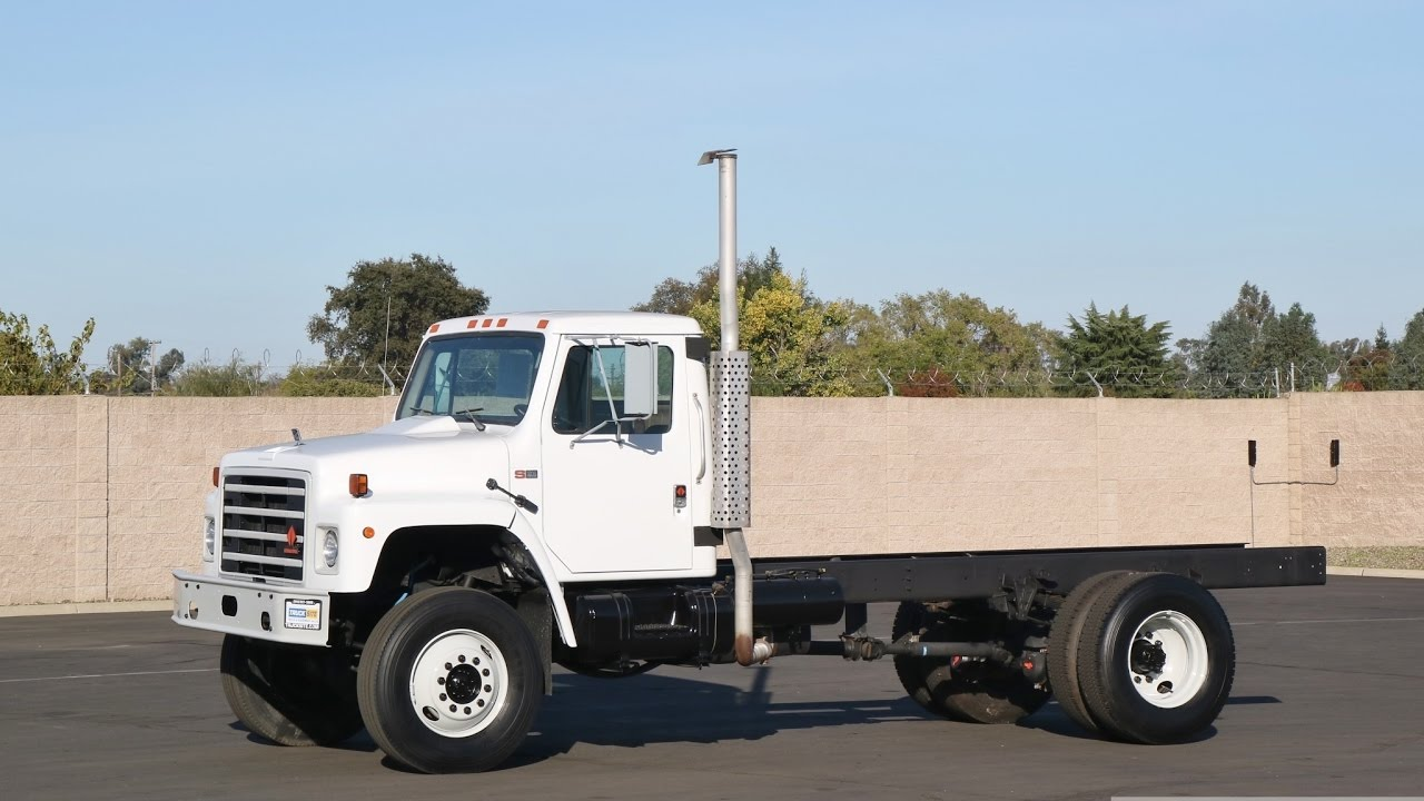 1988 International S1854 4x4 Cab Amp Chassis Youtube