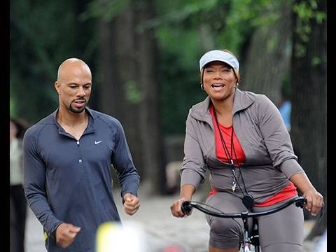queen latifah and common relationship