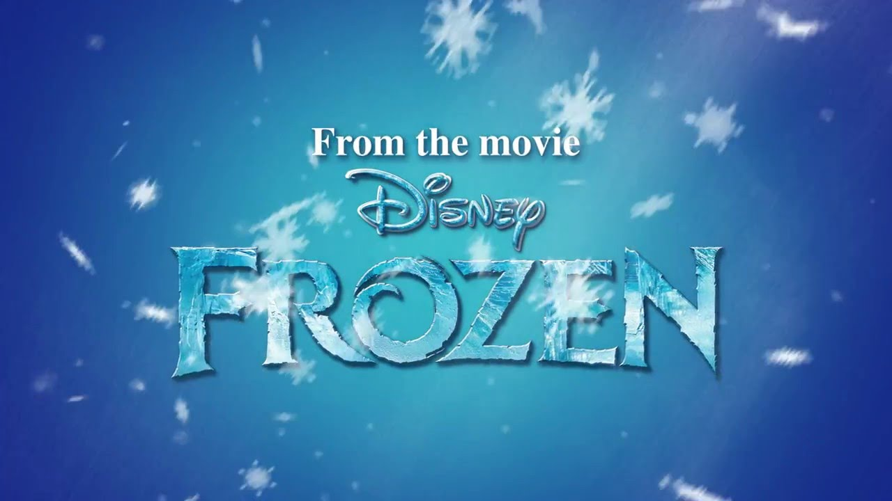 TESCO: Disney Frozen Sticker Folder Augmented Reality Promo - YouTube