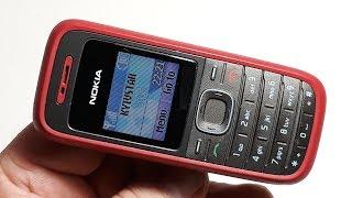 Nokia 1208. Телефон из Германии. Наговорили 13 часов
