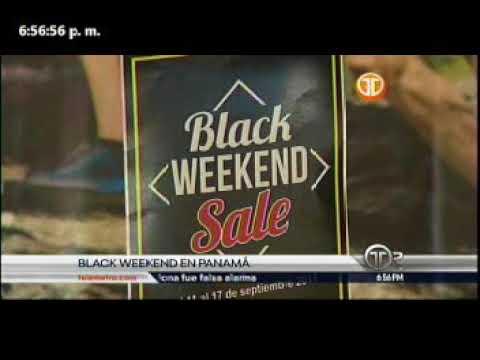 Telemetro administrador de turismo, Gustavo Him sobre Black Weekend en Panamá