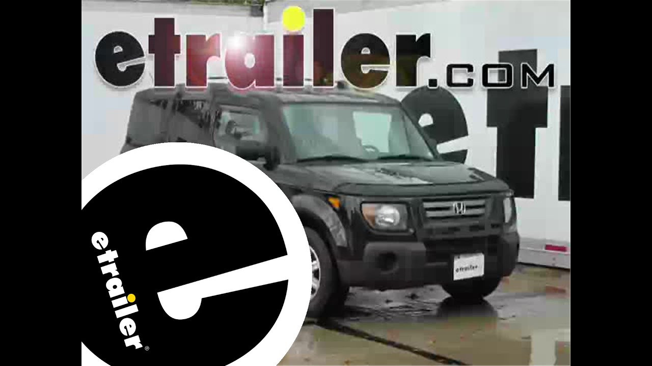 Installation of a Trailer Wiring Harness on a 2008 Honda Element – Installing Trailer Wiring Harness
