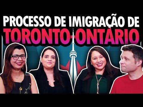 TUDO SOBRE O PROCESSO DE IMIGRAÇÃO PROVINCIAL DE ONTARIO (TORONTO) NO CANADÁ