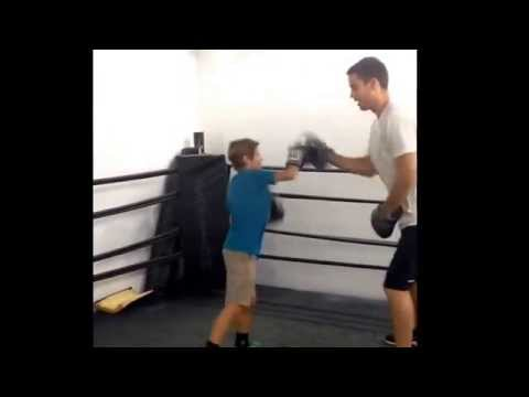 Santa Monica physical therapy with boxing!