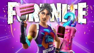 *FREE GIFTS* SECOND ANNIVERSARY OF FORTNITE LIVE!
