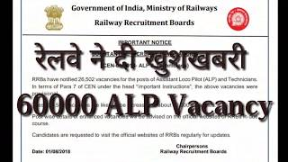 Railway ALP Vacancy 2018