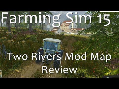 Farming Simulator 15 - Two Rivers Map Review