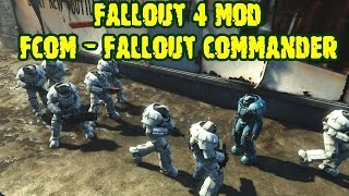 Fallout 4 мод FCOM - Fallout Commander