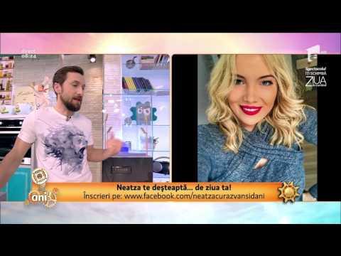 Dani Oţil, dialog spumos cu fosta lui elevă de la Intact Media Academy