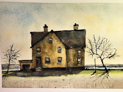 backlighting-techniques-in-landscape-watercolors--with-chris-petri