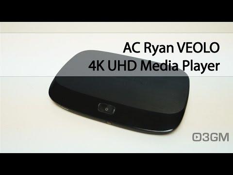 #1696 - AC Ryan VEOLO 4K UHD Media Player Video Review