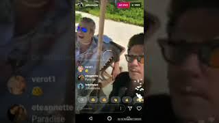 John Mayer on Instagram Live- February 17,2018