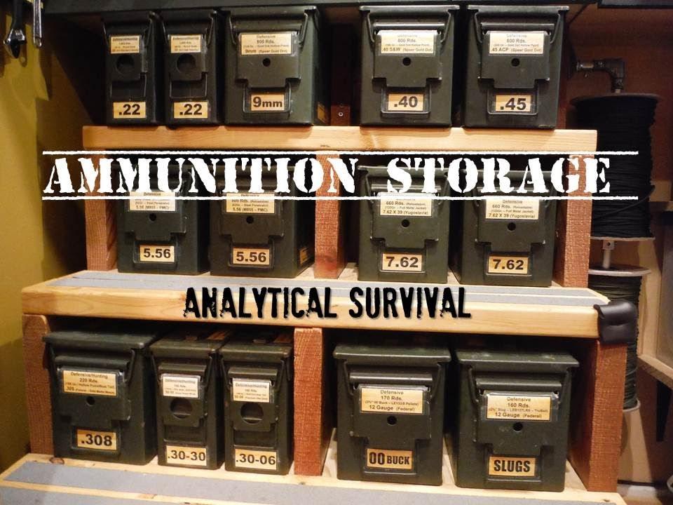 Ammunition Storage Youtube