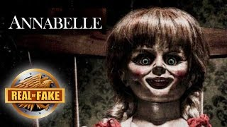 ANNABELLE THE DOLL - real or fake?