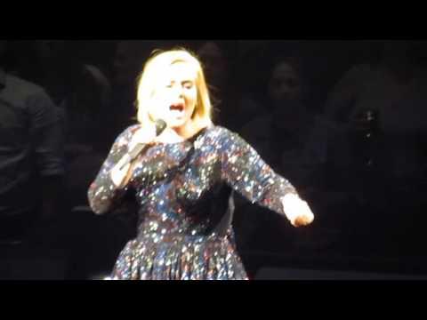 Adele - &39;Hello&39; - Madison Square Garden - NYC - 92616