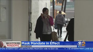 Riverside County Residents Face $1,000 Fine For Not Wearing Face Coverings