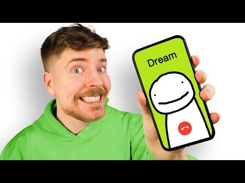 Prank Calling Dream - MrBeast Shorts