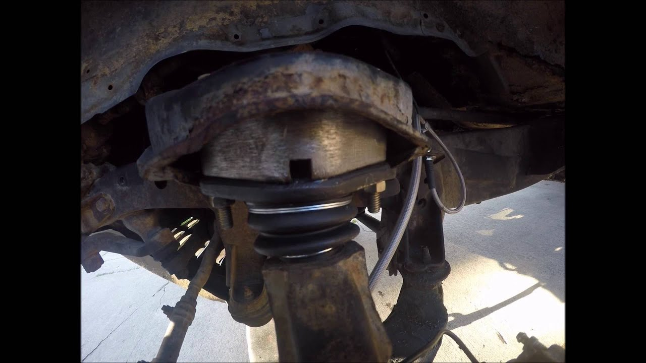 Balljoint Spacer Lift Install Pickup 4runner Youtube