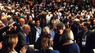 El president Artur Mas ovacionat al congrés fundacional de Demòcrates