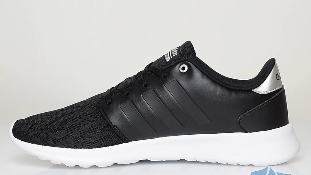 adidas cloudfoam black womens