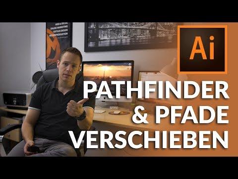 Adobe Illustrator - Pathfinder und Pfade verschieben, muss man kennen