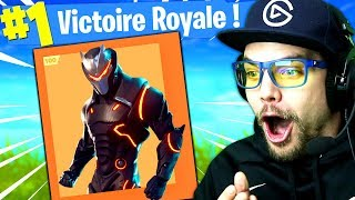"THE SKIN LIVE 100 ""OMEGA"" on FORTNITE: Battle Royale!!"