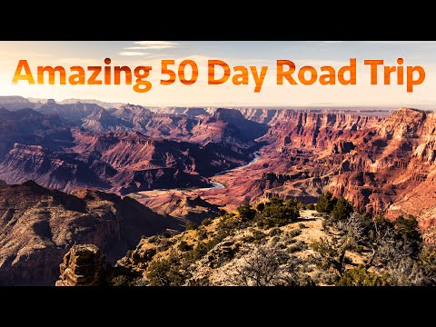 Amazing 50 Day Road Trip Across the USA and Canada