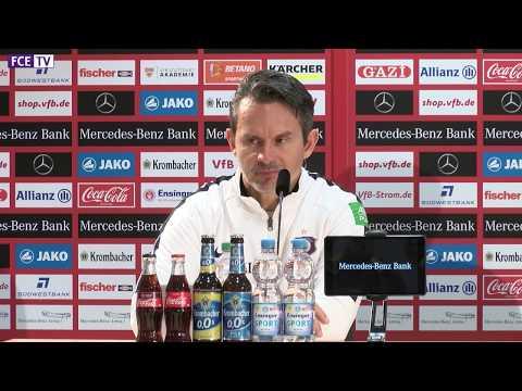 Die PK nach dem Auswärtsspiel beim VfB Stuttgart