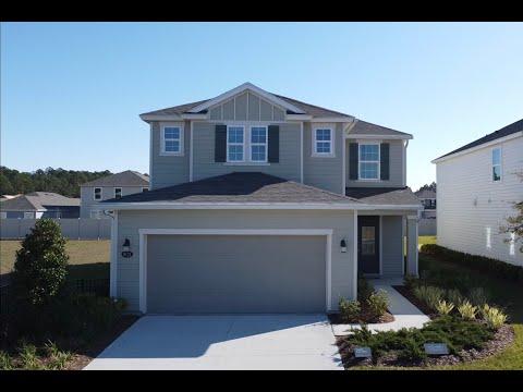 New Model Home Tour   Jacksonville FL   4 Bedrooms   3 Bathrooms   2 Car Garage