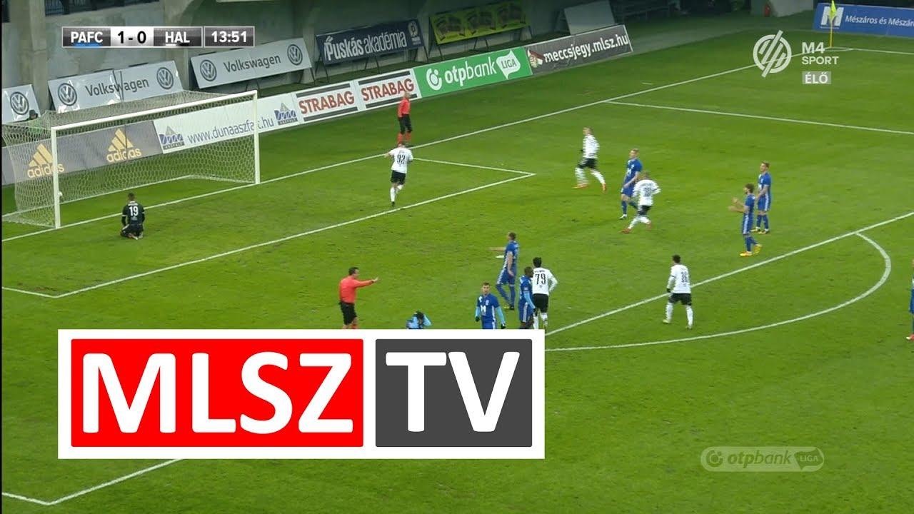 Bouard Ramos Myke gólja a Puskás Akadémia FC - Swietelsky Haladás mérkőzésen