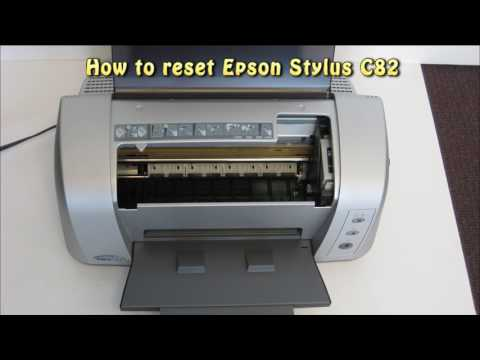 Reset Epson C82 Waste Ink Pad Counter