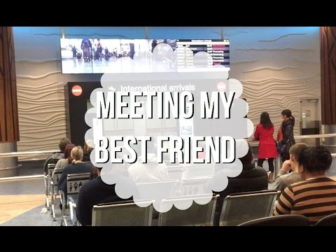 Auckland Vlog Day 1 - MEETING MY BEST FRIEND!