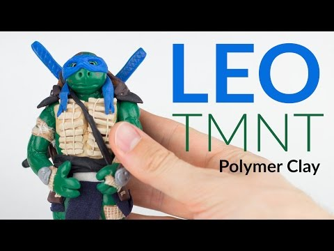 LEONARDO (TMNT) – Polymer Clay Tutorial