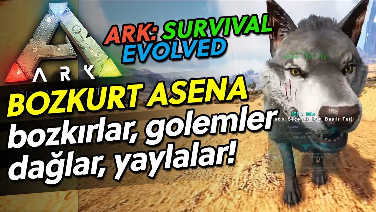 ASENA Sırtına Bozkırlarda! - ARK SURVIVAL EVOLVED - Bölüm 41 - GeForceNow