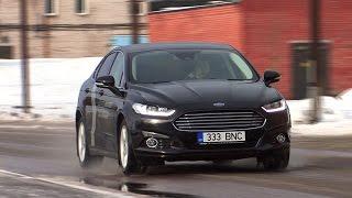 Motorsi proovisõit: uus Ford Mondeo