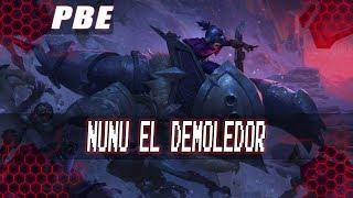 Nuevo Skin Nunu el Demoledor 2018 975RP Parche 8.17