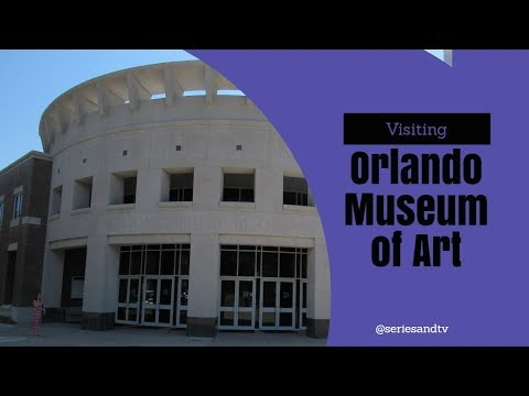 Visiting Orlando Museum Of Art - Cultural activities for families on Orlando Vacations #TravelTips