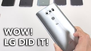 LG V30: IMPRESSIVE || In-Depth Hands On Review!
