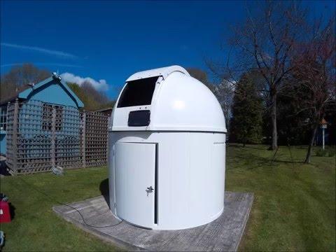 Observatory build timelapse