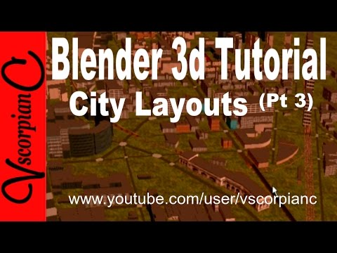Blender 3d Tutorial - City Buildings & Layouts (Pt 3) Edit, UV Mapping, Texture  Tips by VscorpianC