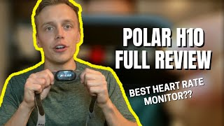 Polar H10 Heart Rate Monitor & App Full Review - Chest Strap HRM - MOST ACCURATE HEART RATE MONITOR?